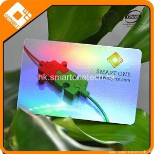 PVC CMYK 四色印刷 RFID F08镭射卡