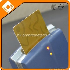 PVC 滿版閃金4428接觸式芯片IC智能會員卡