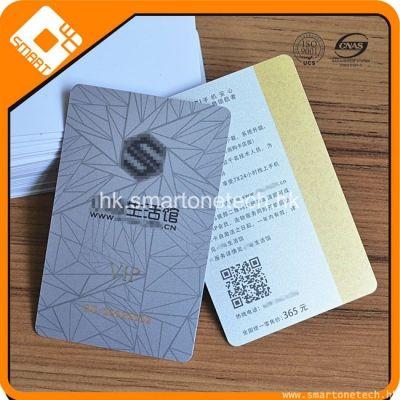 PVC 2750Oe 高亢金色磁條會員卡 磁條卡定做
