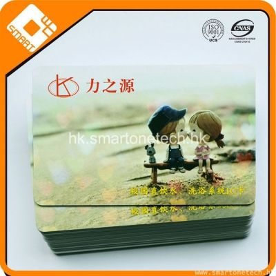 廠家直銷IC復旦卡 F1108感應卡 學校企業壹卡通智能水卡