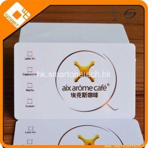 咖啡廳射頻IC會員卡 復旦m1卡 F08感應卡 會員充值IC卡生產定制