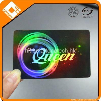 廠家供應鐳射卡 高檔鐳射會員卡 鐳射FM08芯片會員卡生產定制